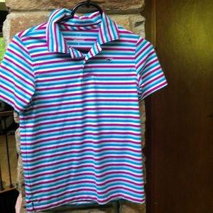 NWOT Vineyard Vines Performance girls golf shirt